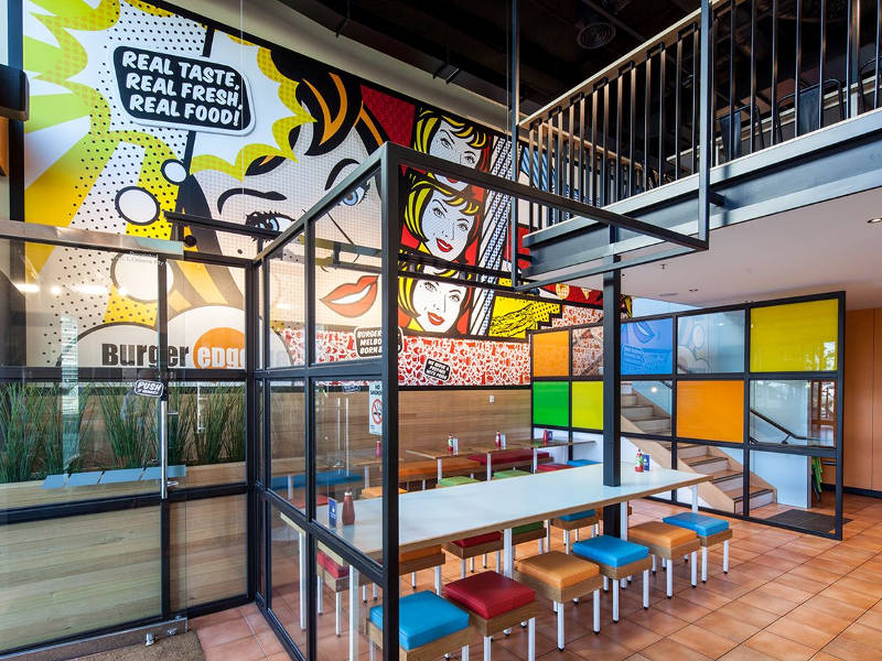 Play - Food and Beverage Burger Edge Melbourne